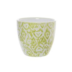 Ceramic Newtown Pot Moss (15x13cmH)