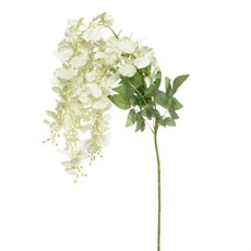 Artificial Orchids - Dancing Lady Orchid White (100cmH)