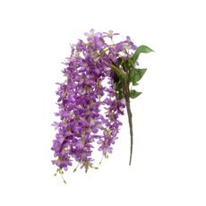 Artificial Orchids - Dendrobium Star Orchid Purple (60cmH)