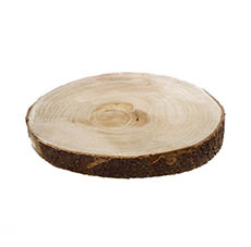 Natural Wood Slice Round (30cmx4cmH)
