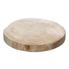 Wood Slices - Natural Wood Timber Slice Round (Approx. 34.5cmx4cmH)