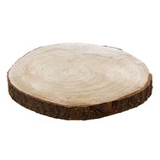Natural Wood Slice Round (36cmx4cmH)