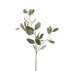 Artificial Leaves - Eucalyptus Seeded Spray Green (72cmH)