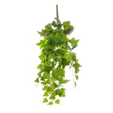 Hanging Ivy Bush Real Touch Green (65cmH)