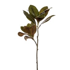 Artificial Leaves and Branches - Princess Magnolia Leaves Spray Real Touch (83cmH)