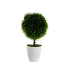 Grass Topiary Potted Green (29cmH)