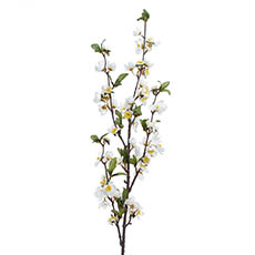 Other Artificial Flowers - Ludy Apple Flower Spray White (99cmH)