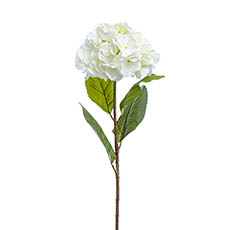 Artificial Hydrangeas - Hannah Hydrangea Spray White (93cmH)
