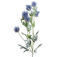 Other Artificial Flowers - Thistle Flower Blue (83cmH)