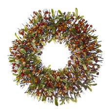 Christmas Wreath - Garden Fresh Berry Christmas Wreath Autum (45cm)