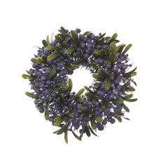 Christmas Wreath - Garden Fresh Berry Candle Ring Blueberry  (30cm)