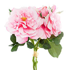 Wild Rose Bouquet Pink(35cmH)