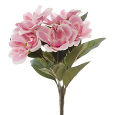 Other Artificial Bouquets - Magnolia Bunch 6 Heads Light Pink (35cmH)
