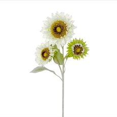 Other Flowers - Sunflower Spray Cream (88cmH)