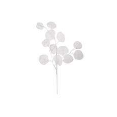 Artificial Leaves - Artificial Lunaria Pick White (44x15x5cm)