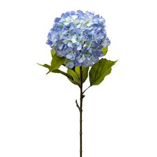 Artificial Hydrangeas - Princess Hydrangea Stem Blue (106cmH)