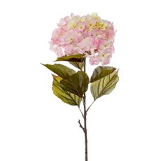 Artificial Hydrangeas - Princess Hydrangea Stem Light Pink (106cmH)