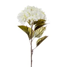 Artificial Hydrangeas - Princess Hydrangea Stem White (106cmH)