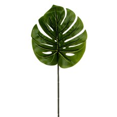 Artificial Leaves - Philo Split Leaf Dark Green (89cmH)