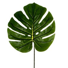 Artificial Leaves - Philo Split Leaf Dark Green (100cmH)