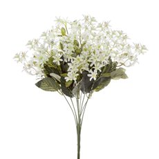 Other Artificial Bouquets - Nerine Star Flower Value Bunch White (50cmH)