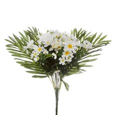 Other Artificial Bouquets - Daisy Value Bunch White (47cmH)