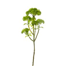 Other Artificial Flowers - Mini Sedum Spray (Billy Button) Green (34cm)