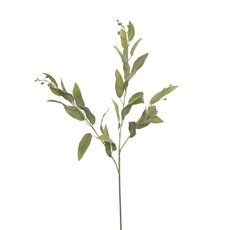 Artificial Leaves - Artificial Sage Leaf Spray Green (97cmH)
