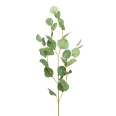 Artificial Leaves - Eucalyptus Dollar Gum Spray Green (90cmH)