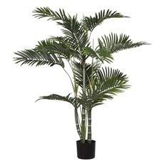 Artificial Trees - Artificial Golden Cane Palm Potted Green (122cmH)