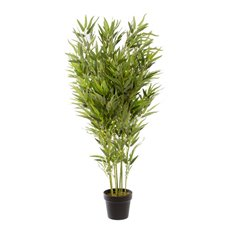 Bamboo Potted Plant Green (110cmH)