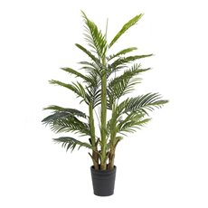 Artificial Trees - Artificial Areca Palm Potted Plant Real Touch (160cmH)