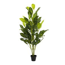 Artificial Plants - Artificial Dieffenbachia Potted Plant Fresh Look (150cmH)