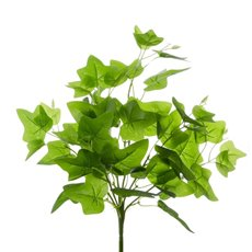 English Ivy Bush Real Touch x7 Green (40cm)
