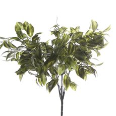Artificial Leaves - Leaf Bunch Green (38cm)