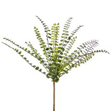 Artificial Leaves - Spider Fern Bunch Green (30cm)