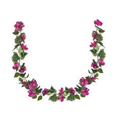 Other Flowers - Bougainvillea Garland Hot Pink (180cm)