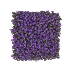 Greenery Walls - Artificial Leaves Mat Purple Passion (50x50cm)