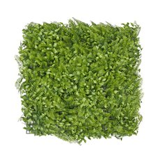 Greenery Walls - Artificial Fern Leaves Wall Green (50x50cm)