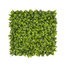 Greenery Walls - Artificial Laurel Leaf Mat Green (50x50cm)