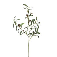 Artificial Leaves - Olive Branch Spray (70cmH)