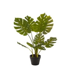 Artificial Trees - Artificial Split Philo Tree Potted Green (85cm)