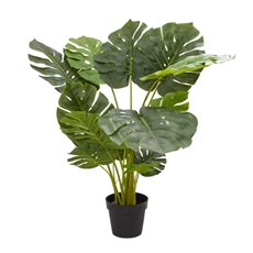 Artificial Trees - Artificial Split Philo Tree Potted Green (110cm)