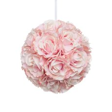 Lavina Rose Ball Pink (12in/30cmD)