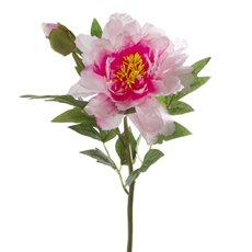 Artificial Peonies - Peony Alicia Hot Pink (45cmH)