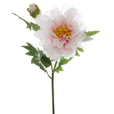 Artificial Peonies - Peony Alicia Light Pink (45cmH)