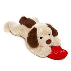 Fred Puppy Extra Large Dark Brown (74cmHT)
