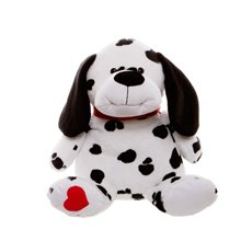 Spotty Dog Black (25cmST)