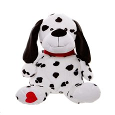 Spotty Dog Black (31cmST)