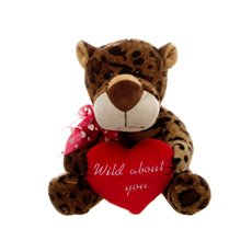 Lenny Leopard with Heart (25cmHT)